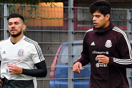 El yucateco Henry Martín ya entrena en Holanda con la selección mexicana