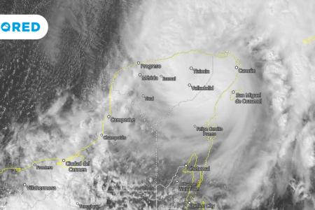 Peculiaridades que hacen de Gamma un ciclón pequeño pero peligroso