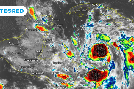 Huracán Delta amenaza la Península de Yucatán: llegaría con vientos de 200 km/h