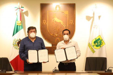 Fonatur y Yucatán firman convenio para impulsar trabajos del Tren Maya