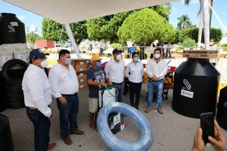 Programa Peso a Peso llega a Telchac Pueblo