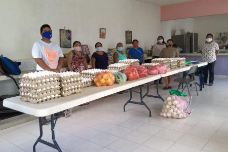 Atención oportuna a familias afectadas por el huracán Zeta en Yucatán