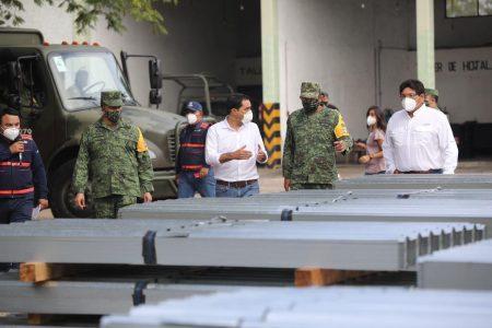 Llegan a Yucatán apoyos del Fonden: Mauricio Vila inicia la distribución a afectados
