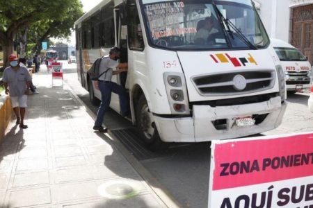 A las 3 de la tarde se restablece el transporte en Mérida y en todo Yucatán