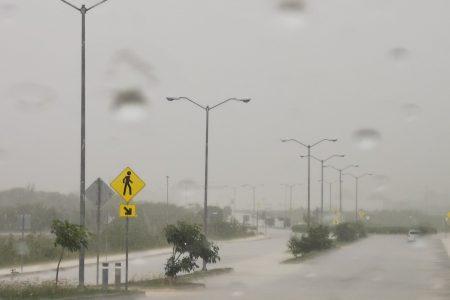 Pronostican nuevo periodo de lluvias fuertes para la Península de Yucatán