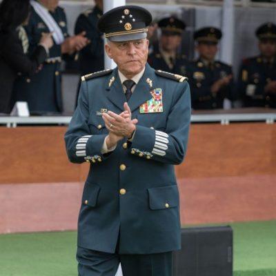 Detienen en Estados Unidos al Gral. Salvador Cienfuegos, titular de Sedena con Peña Nieto