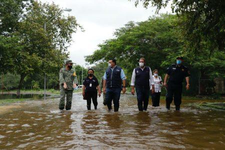 El Ayuntamiento intensifica labores en zonas afectadas por las intensas lluvias
