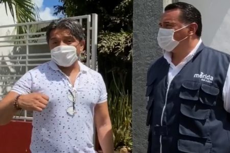 Renán Barrera se reúne esta tarde con vecinos de Las Américas en el Palacio Municipal