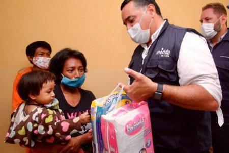 Pese a contingencias, no se detiene la atención médica en comisarías de Mérida