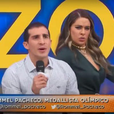 El yucateco Rommel Pacheco muestra su versatilidad en el programa 'Hoy'