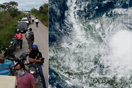 Zeta ya es huracán: sus efectos se prolongarían 48 horas en Yucatán