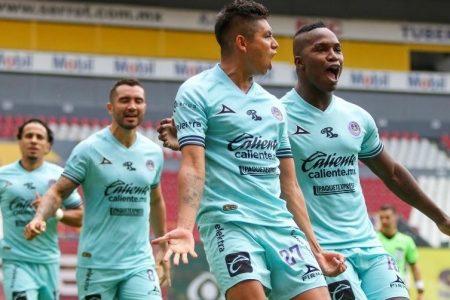 Tercer gol del yucateco Miguel Sansores en el Torneo Guardianes 2020