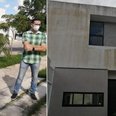 No hubo inundaciones, pero en Real Montejo y Alesia las casas no resisten ya otro ciclón