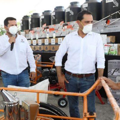 Fuerte apoyo para productores yucatecos con el programa Peso a Peso 2020