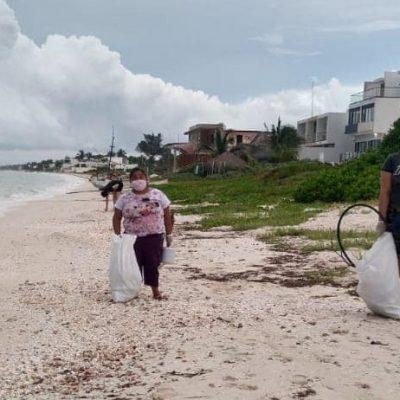 Denuncian desvío de toneladas de arena a predios costeros particulares