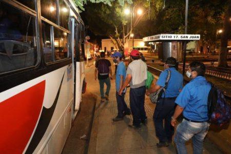 Por Delta, transporte en Mérida estará a su mínima capacidad