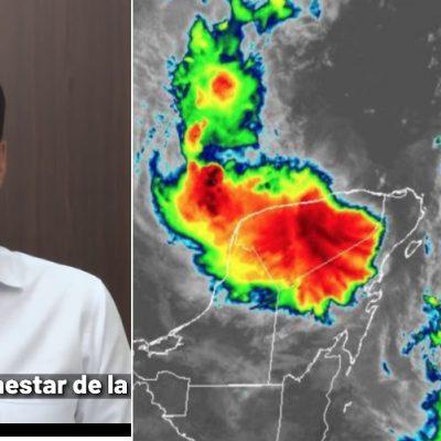 Huracán Delta: suspenden actividades no esenciales en Yucatán