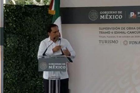 Convoca Mauricio Vila Dosal al Gobierno federal a trabajar juntos por la gente