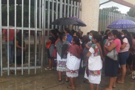 En Chichimilá, los apoyos alimentarios del DIF, solo para gente del PRI