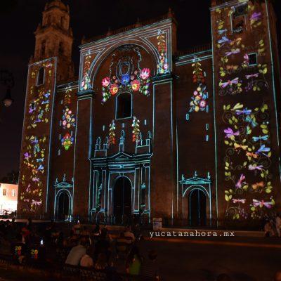 Mérida, lista para disfrutar de nuevo dos exitosos video mappings