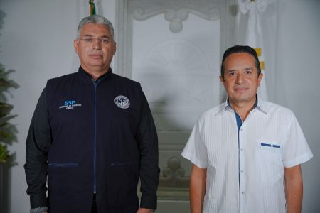 Carlos Joaquín nombra a Lucio Hernández como encargado de SSP Quintana Roo