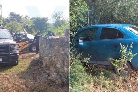Recuperan un auto que fue robado en Kanasín