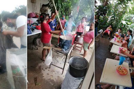 Mujeres pepenan para mantener su comedor infantil; solicitan apoyo