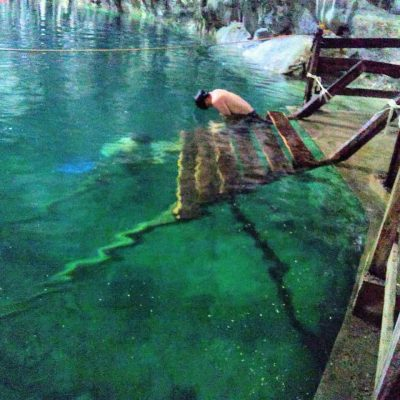 Tras inundaciones, mañana reabre el parque turístico de Dzitnup, en Valladolid
