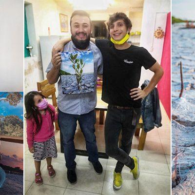 Admiración italiana al arte y la resiliencia de la madre naturaleza en Yucatán