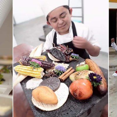 Frank, pequeño chef y jaranero del sur de Yucatán