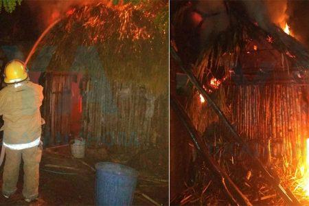 Pierde su cocina y varias pertenencias por un incendio