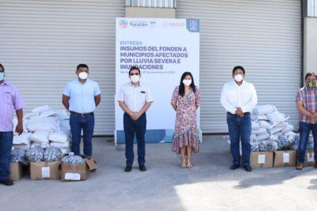 Distribuyen apoyos del Fonden enfocados a prevenir enfermedades
