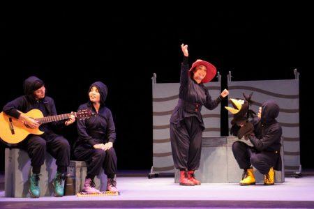 'Los cuervos no se peinan', teatro para primarias en espacios digitales