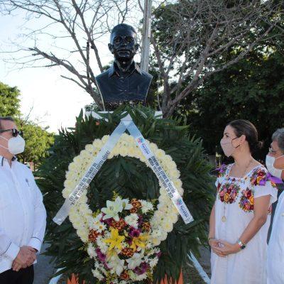 Conmemoran el 120 aniversario del natalicio de Alfredo Barrera Vásquez