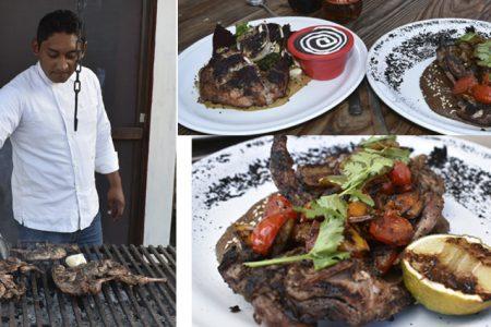 Prueba conejo y codorniz estilo gourmet en Línea, restaurante de carnes magras con gran sabor