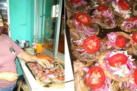 Prueba los deliciosos panuchos de doña Magaly