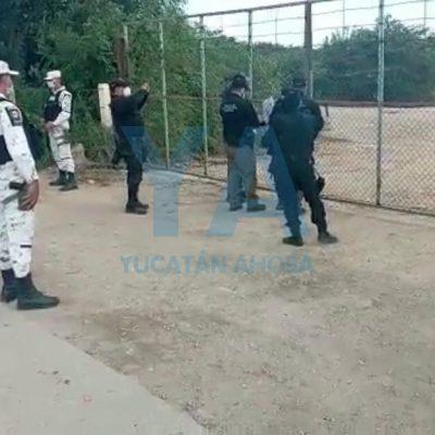 Aseguran 36 mil litros de combustible en predio de 'huachicol' en la Mérida-Campeche