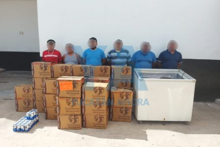 'Desbaratan' clandestino: seis detenidos