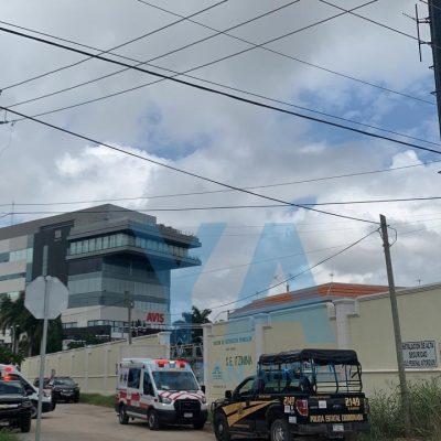 Tragedia en instalaciones de CFE en San Ramón Norte: cae empleado de una torre