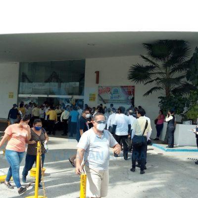 Evacuan tienda Coppel de Plaza Dorada; se activan alarmas contra incendio