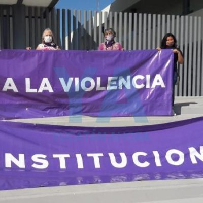 Protestan frente al Congreso contra la violencia institucional