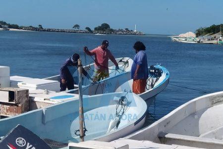Rescatan a pescadores de Celestún que quedaron a la deriva por falla en su motor