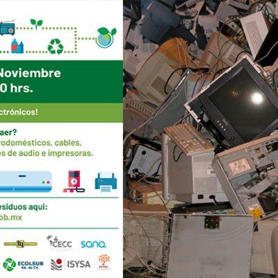 Del 23 al 27 de noviembre será el Reciclatón 2020; lleva tus electrónicos viejos