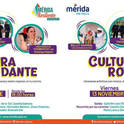 En vehículo hasta tu colonia: música, comedia y baile con 'Cultura Rodante'