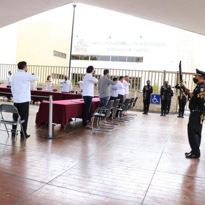 Banderazo electoral en Yucatán bajo un contexto sin precedente