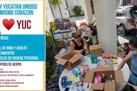 Yucatán unido por Tabasco: súmate y apoya al hermano estado