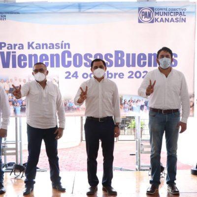 Blindan al panismo de Kanasín de aspirantes perdedores 'coox virados'