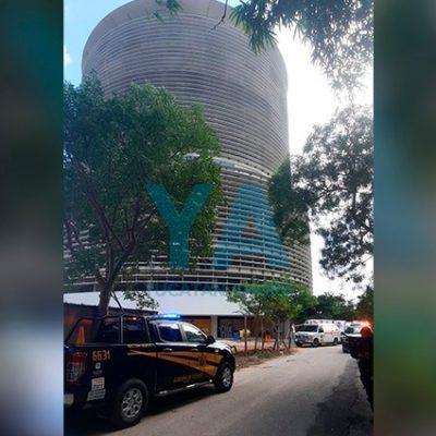 Trágica muerte en una torre de departamentos en el norte de Mérida