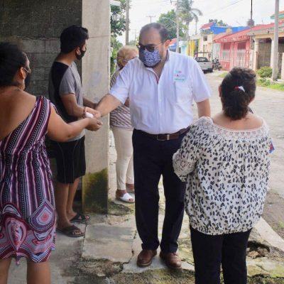 Respalda el senador Jorge Carlos Ramírez Marín obra social ciudadana