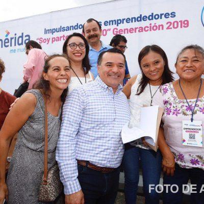 Impulsan reactivación de Mérida: más apoyos a emprendedores